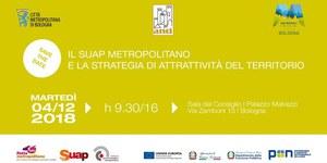 04/12/2018 Bologna - Il Suap metropolitano e la strategia di attrattività del territorio