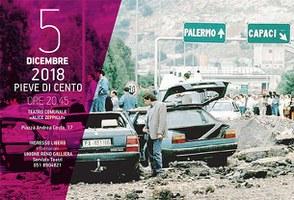 05/12/2018 Pieve di Cento - Legalità e contrasto alla criminalità organizzata - ATTENZIONE: EVENTO ANNULLATO