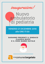 21/12/2018 Argelato - Inaugurazione nuovo ambulatorio di pediatria
