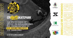 28/10/2018 Castel Maggiore - Best Trick Contest. Un nuovo spazio e nuove opportunità per i giovani a Castel Maggiore