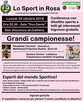 29/10/2018 Galliera - Lo sport in rosa
