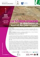 01/03/2019 Bentivoglio - La strada romana di Bentivoglio. Risultati delle ultime indagini archeologiche