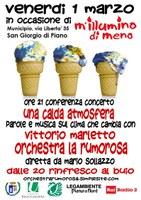 01/03/2019 San Giorgio di Piano - Una calda atmosfera. Parole e musica sul clima che cambia. M'illumino di meno 2019