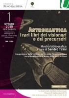 01/09-03/11/2019 Pieve di Cento - Astronautica, i rari libri dei visionari e dei precursori.