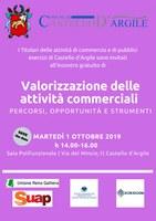 01/10/2019 Castello d'Argile - Valorizzazione delle attività commerciali