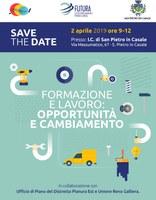 02/04/2019 San Pietro in Casale - Formazione e lavoro: opportunità e cambiamento