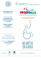 03/12/2019 Argelato - Giornata internazionale delle persone con disabilità