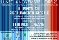 04/11/2019 San Giorgio di Piano - Il punto sul riscaldamento globale. Conferenza di Federico Grazzini