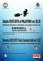 """06/01/2019 Argelato - Arriva la Befana! Spettacolo """"I burattini di Mattia"""""""