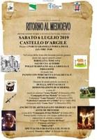 06/07/2019 Castello D'Argile - Ritorno al Medioevo. Rievocazione storica a cura del Gruppo storico del Reno