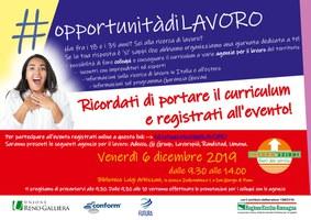 06/12/2019 San Giorgio di Piano - #opportunitàdiformazione