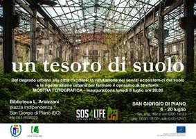 06-20/07/2019 San Giorgio di Piano - Un tesoro di suolo. Mostra fotografica itinerante di Legambiente