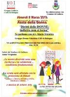 08/03/2019 Galliera - Diritti delle donne: indietro non si torna. Giornata internazionale della donna