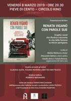 08/03/2019 Pieve di Cento - Renata Viganò con parole sue. In occasione della Giornata internazionale della donna