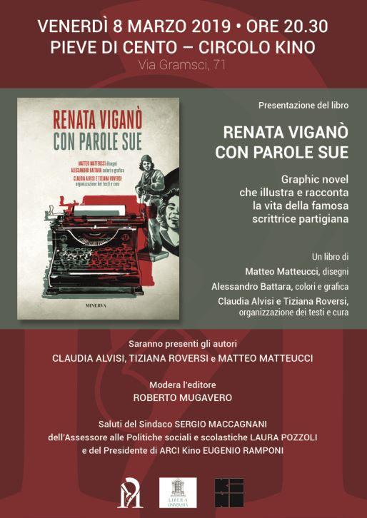 Parole Di Vita Calendario 2019.08 03 2019 Pieve Di Cento Renata Vigano Con Parole Sue In