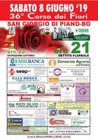 08/06/2019 San Giorgio di Piano - Corso dei Fiori. 36a edizione