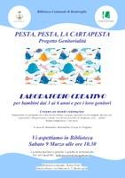 09/03/2019 Bentivoglio - Pesta, pesta, la cartapesta.  Laboratorio creativo per bambini di 3-6 anni e i loro genitori