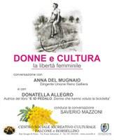 10/03/2019 San Giorgio di Piano - Donne e cultura, la libertà femminile. Giornata internazionale della donna
