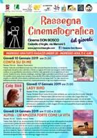 10-17-24/01/2019 Castello d'Argile - Rassegna cinematografica del giovedì al cinema Don Bosco