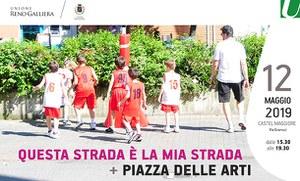 12/05/2019 Castel Maggiore - Questa strada è la mia strada (festa delle associazioni in strada) e + Piazza delle arti (musica e danza)