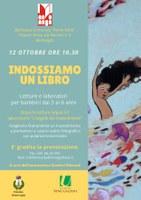12/10/2019 Bentivoglio - Indossiamo un libro. Letture e laboratorio per bambini dai 3 ai 6 anni