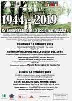 13-14/10/2019 Castel Maggiore - Commemorazione degli eccidi del 1944