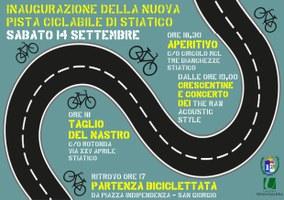 14/09/2019 San Giorgio di Piano - Inaugurazione della nuova pista ciclabile di Stiatico