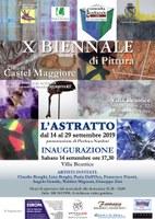 14-29/09/2019 Argelato - L'astratto. X Biennale di Pittura Città di Castel Maggiore