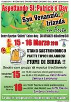 15-16/03/2019 Galliera - Aspettando St. Patrick's Day. Festa irlanedese a San Venanzio