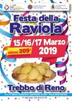 15-16-17/03/2019 Castel Maggiore - Festa della Raviola. 209a edizione di uno degli eventi più tradizionali dell'intera area bolognese