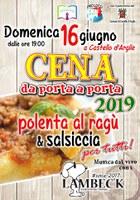 16/06/2019 Castello d'Argile - Cena da porta a porta 2019