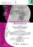 16/07/2019 Bentivoglio - ASTRONAUTICA, IL SOGNO CHE SEMBRAVA IMPOSSIBILE e JAZZ MOON QUINTET. Un appuntamento di Reno Road Jazz