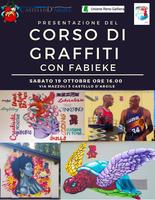 19/10/2019 Castello D'argile - Presentazione del corso di graffiti con FABIEKE