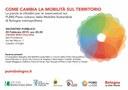 20/02/2019 Castello d'Argile - Come cambia la mobilità sul territorio. Incontro pubblico sul Piano Urbano della Mobilità Sostenibile di Bologna metropolitana