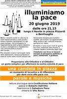 20/06/2019 Bentivoglio - Illuminiamo la pace. Parole e musica per dar voce alla pace