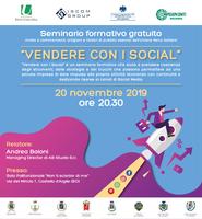 20/11/2019 Castello d'Argile - Vendere con i Social. Seminario formativo gratuito