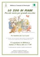 23/03/2019 Bentivoglio - LO ZOO DI FIABE. Piccole storie per grandi orecchie