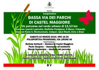 23/03/2019 Castel Maggiore - Inaugurazione della Bassa via dei Parchi