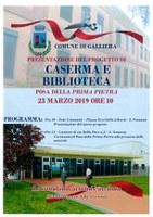 23/03/2019 Galliera - Bibliocaserma - Presentazione progetto e posa prima pietra