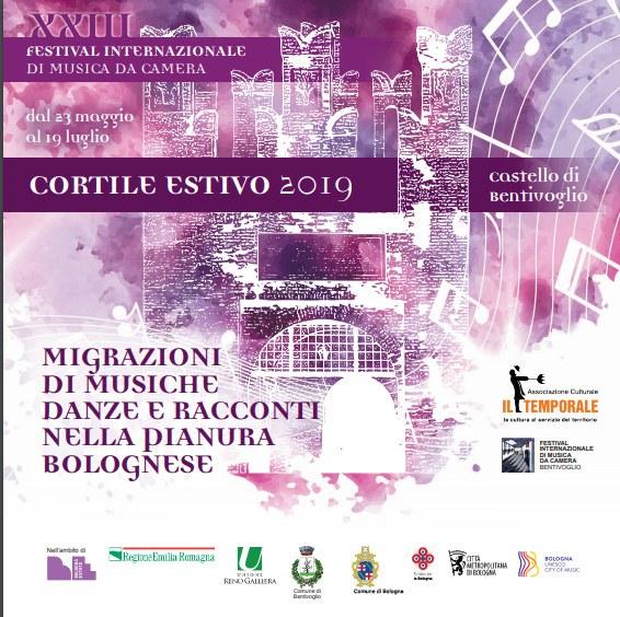 Calendario 2019 Attrici.23 05 19 07 2019 Bentivoglio Xxiii Festival Internazionale