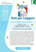 23/11/2019 Galliera - 20 anni Nati per leggere. Settimana nazionale