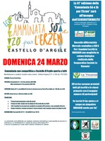 24/03/2019 Castello d'Argile - Camminata Sò e Zò per l'Erzen. 41° edizione