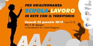 25/01/2019 Castel Maggiore - Per un'alternanza scuola-lavoro. In rete con il territorio