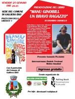 25/01/2019 Galliera - Manu Ginobili. Un bravo ragazzo. Presentazione del libro di Edoardo Caianello - INCONTRO RINVIATO