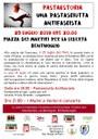 25/07/2019 Bentivoglio - Una pastasciutta antifascista.  In ricordo di quella che si mangiò alla caduta del Fascismo, il 25 luglio del 1943