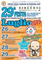 26-27-28-29/07/2019 Galliera - 29a Festa del Volontariato della pubblica assistenza