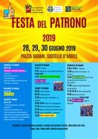 26-30/06/2019 Castello d'Argile - Festa del Patrono San Pietro