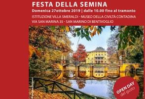 27/10/2019 Bentivoglio - Festa della Semina e Open Day