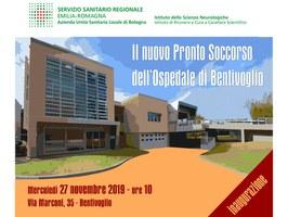 27/11/2019 Bentivoglio - Inaugurazione del nuovo Pronto Soccorso dell'ospedale di Bentivoglio