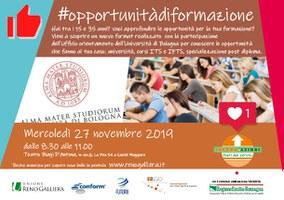 27/11/2019 Castel Maggiore - #opportunitàdiformazione